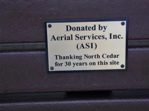 Donated by Aerial Services, Inc