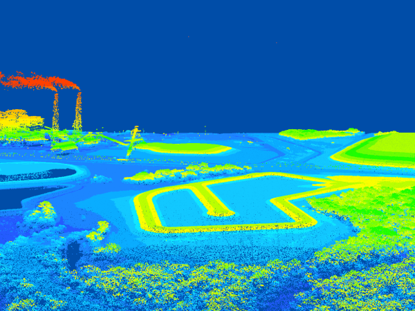 LiDAR Acquisition & Topographic Planimetric Mapping