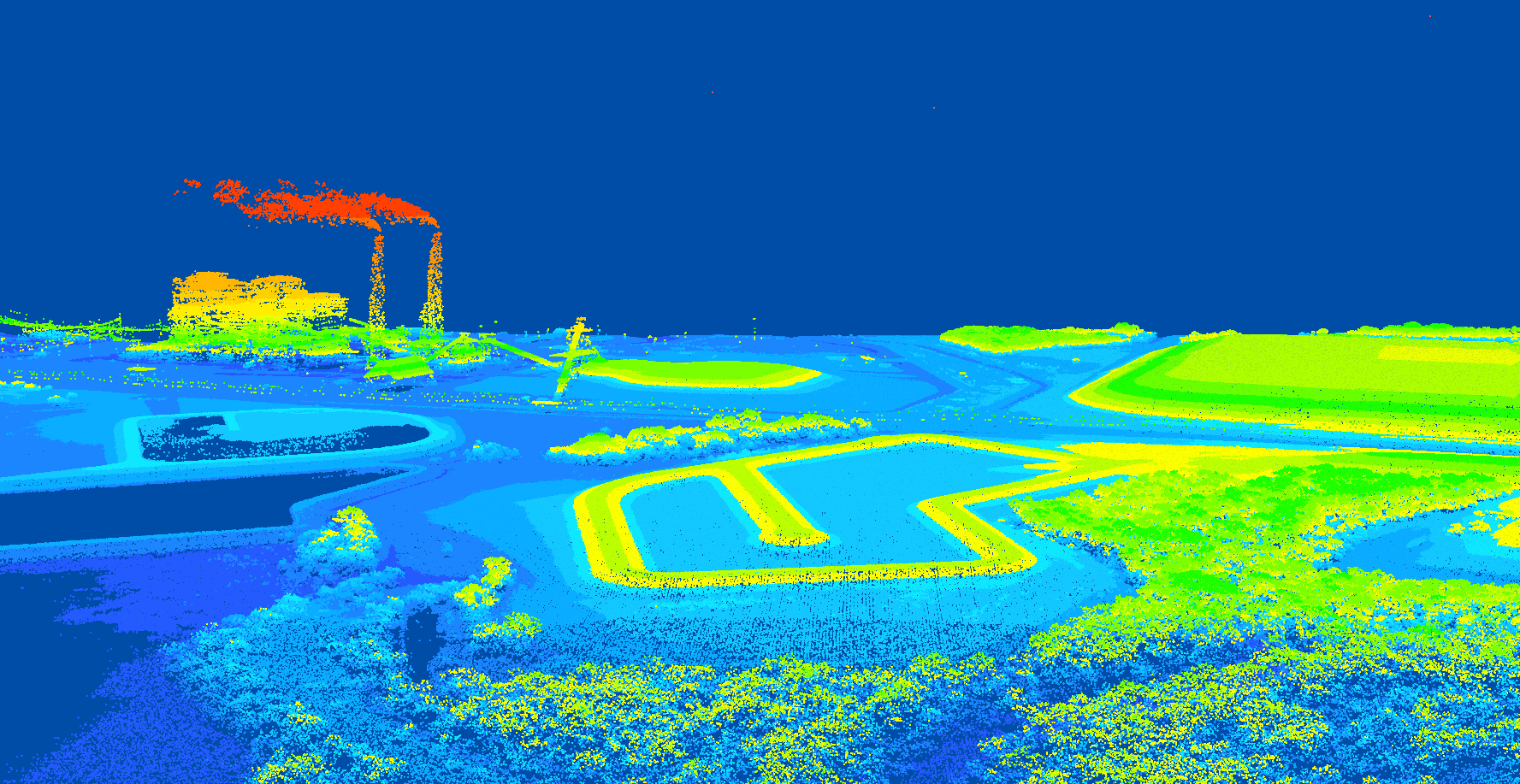 Lidar and topographic mapping solution