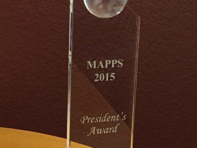 2015 MAPPS President's Award