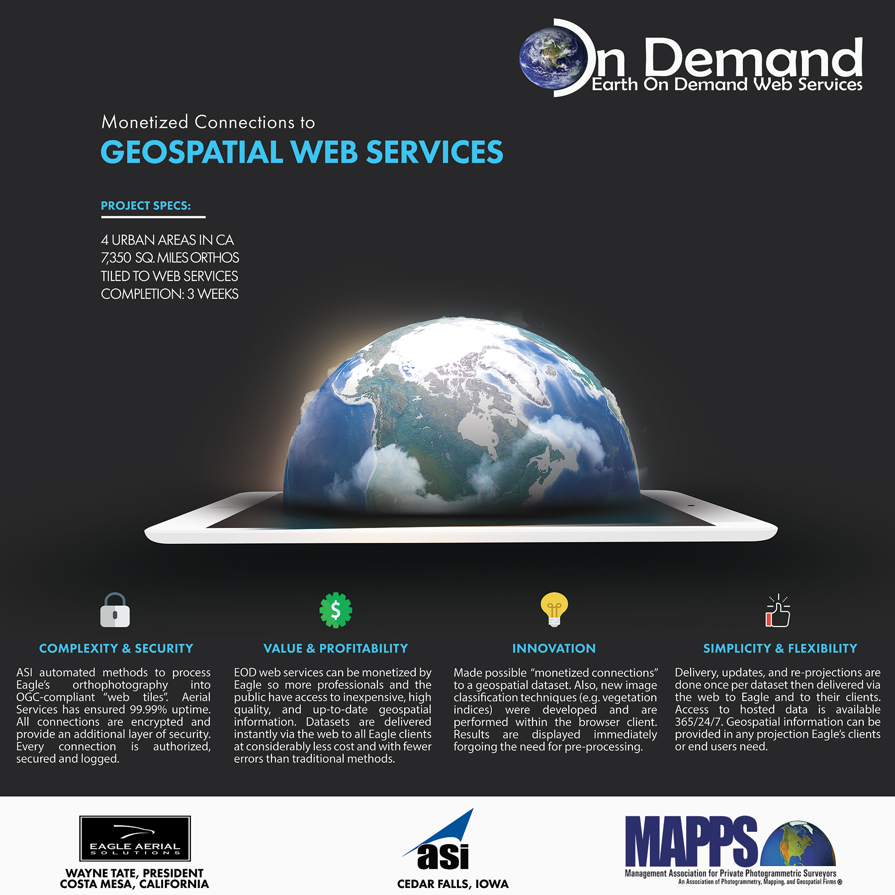 MAPPS AWARD - Earth on Demand
