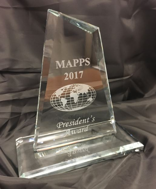 MAPPS President's Award Won for 7th Consecutive Year!