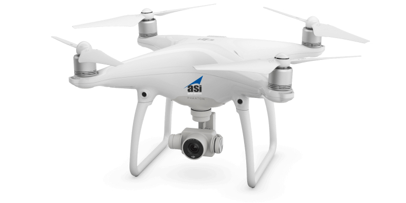 DJI Phantom 4 (sUAS) - Aerial Services, Inc  (ASI)